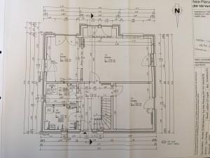 Der finale Grundriss unseres Erdgeschosses inkl. Erker