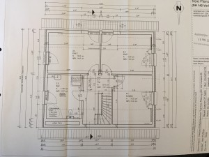 Der finale Grundriss unseres Obergeschosses inklusive Gaube