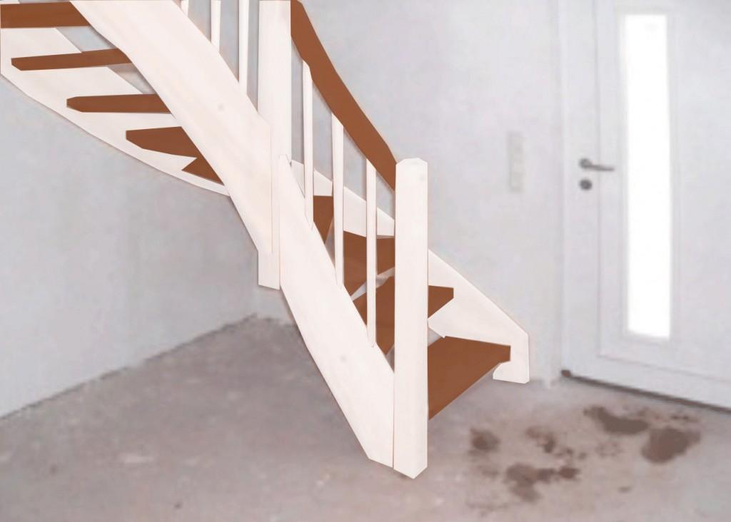 Treppenvorlage